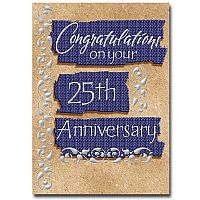 Congratulations on Your 25th Anniversary