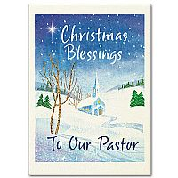 Christmas Blessings to Our Pastor