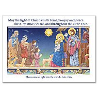 May the Light of Christ's Birth Bring You Joy and Peace