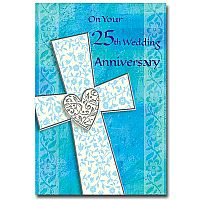 On Your 25th Wedding Anniversary