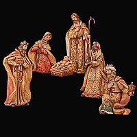 6 Piece Nativity Set