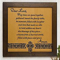 Meal Blessing Plaque