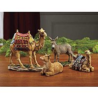 "Animal Group for 7"" Real Life Nativity Set"
