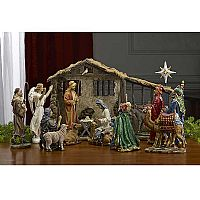 7-Inch Real Life Nativity Complete Set