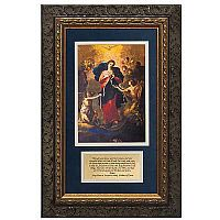 Mary, Undoer of Knots Framed Print