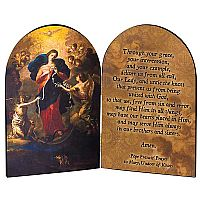 Mary, Undoer of Knots Arched Diptych