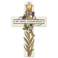 My First Communion Wall Cross