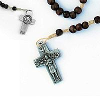 Pope Francis Pectoral Cross Rosary