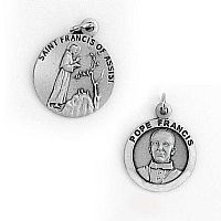 Pope Francis / St. Francis of Assisi Medal