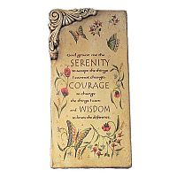 Serenity Prayer Wall Plaque