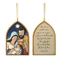 Holy Family Arch Ornament