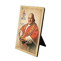 Pope John XXIII Desk Plaque