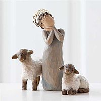 Willow Tree Nativity Little Shepherdess