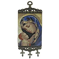 Madonna and Child Icon Banner