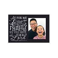 As For Me Chalkboard Frame