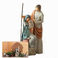 The Holy Family Figurine