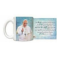 Pope Francis Thumbs Up Mug