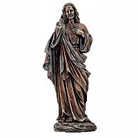 Sacred Heart of Jesus with Open Arms Statue
