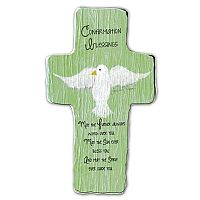 Confirmation Blessings Cross Plaque