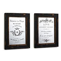 Scripture Mirror Wall Art