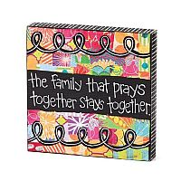 Family That Prays Wall Art