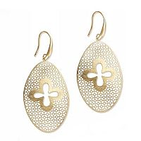Basilica Quatrefoil Earrings
