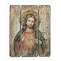 Sacred Heart Wall Plaque