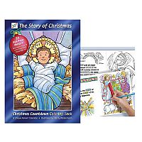 The Story of Christmas Countdown Book