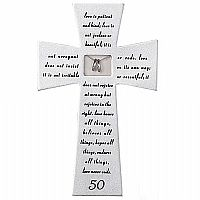 50th Anniversary Wedding Cross