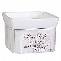 Be Still & Know 2-in-1 Candle Warmer
