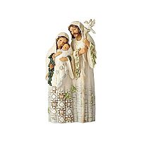 White Woodland Holy Family
