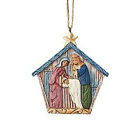 Folklore Holy Family Hanging Ornament