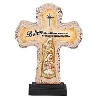 LED Holy Family Cross