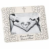 Love is Patient Scroll Frame