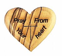 Pray From Your Heart Olivewood Token
