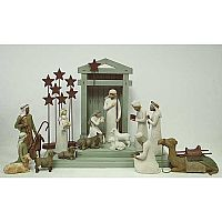 Willow Tree 18-piece Nativity Set