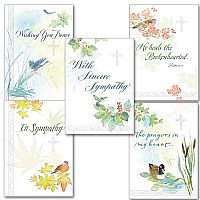 Deluxe Embossed Sympathy Collection