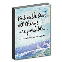 But With God All Things Are Possible