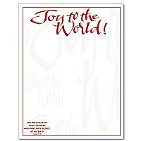 Joy To The World Stationery