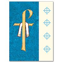 Chi Rho with Priest's Stole