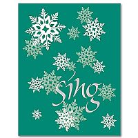 "Christmas Expressions ""sing"""