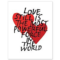 Love Still Is the Most Powerful Force in the World