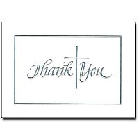 Silver Cross Thank You Notes