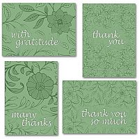 Green Floral Assortment